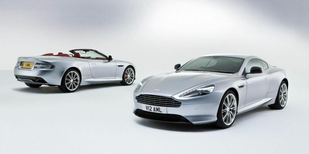FOR DE RIKE: Med en 510-hesters V12 under panseret, blir ikke Aston Martin DB9 for hvermannsen nå heller.