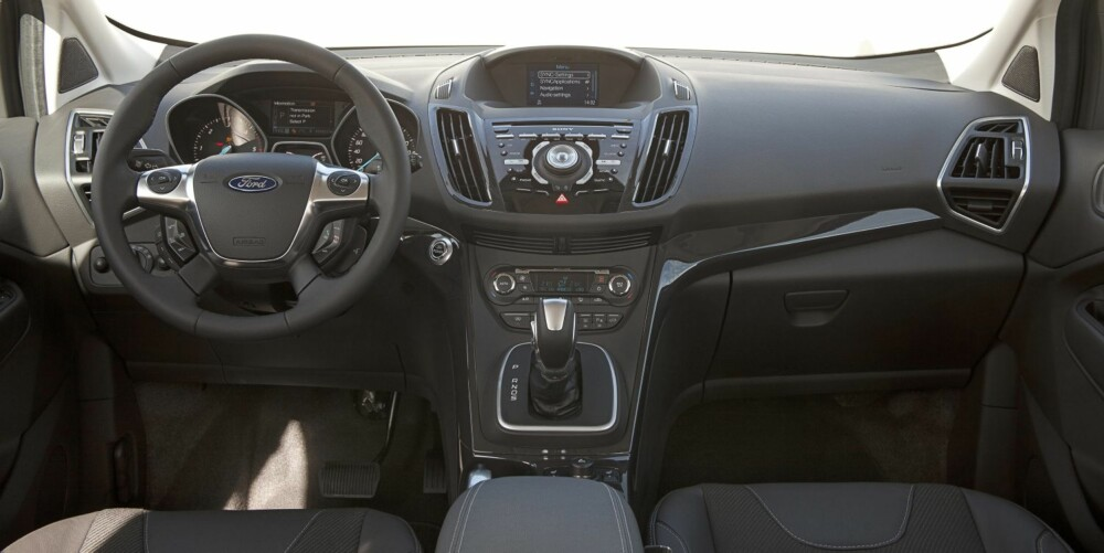 FOCUS: Interiøret minner om Ford Focus. FOTO: Ford