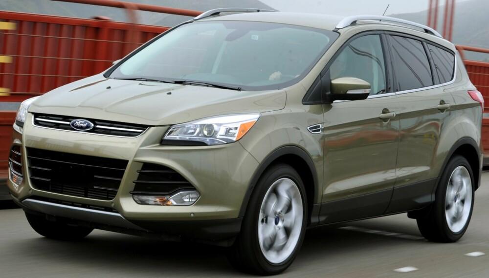 I NORGE: Ford Escape er allerede på plass i USA. Europa-versjonen Kuga er ventet til Norge tidlig neste år. FOTO: Ford