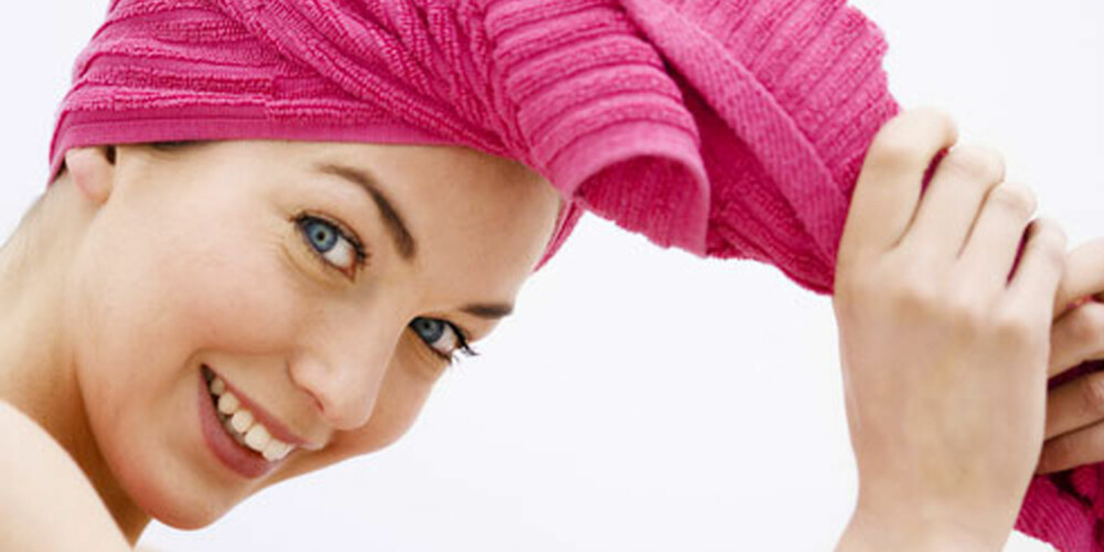 RENT OG PENT: Temperatur på vannet, fingertupper eller ikke fingertupper og håndkle-turban eller ei; det er mye å ta hensyn til om hårvasken skal bli riktig.