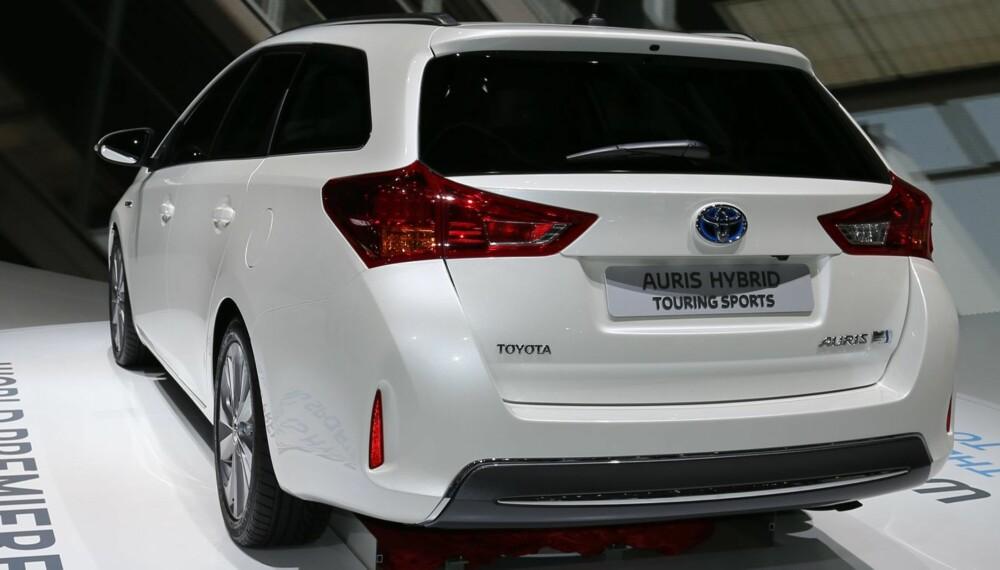 NY: Toyota Auris som stasjonsvogn fikk sin debut på bilutstillingen i Paris. FOTO: Toyota