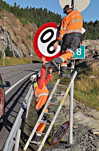 BYTTE: Ned med 90, opp med 80. FOTO: Gunnar Fjellingen/Smaalenenes Avis