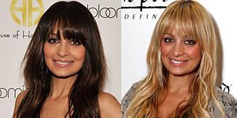 JA, TAKK, BEGGE DELER: Moteløven Nicole Richie liker å leke seg med både klesstil og hårfarge.