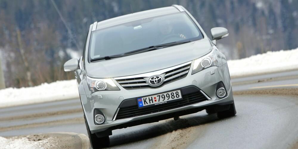 TILBAKE PÅ TOPPEN: Toyota topper TNS Gallups indeks. FOTO: Petter Handeland