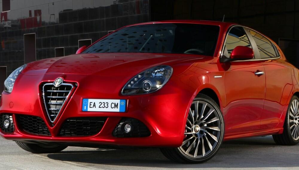 PENEST: Nordmenn synes Alfa Romeo lager de peneste bilene. Bildet viser en Giulietta. FOTO: Alfa Romeo