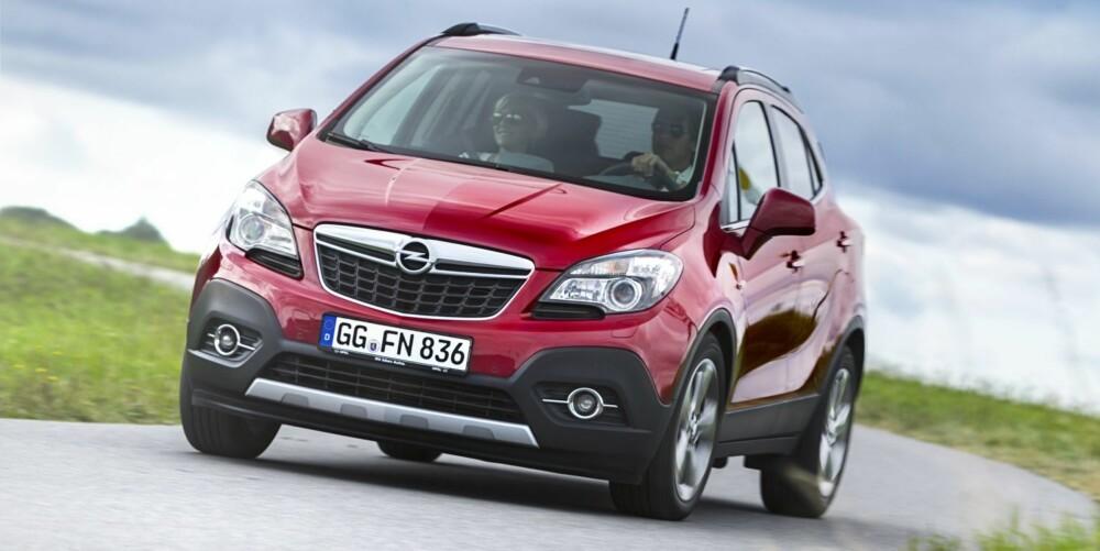 SUKSESS?: Alt ligger til rette for at Opel kan lykkes med Mokka. FOTO: Opel
