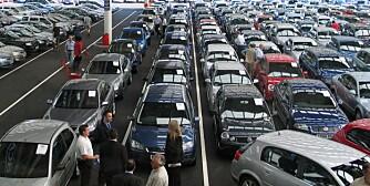 MYE Å VELGE BLANT: Utvalget av bruktbiler har aldri vært større og nå kommer en svensk storaktør på banen. FOTO: Newspress