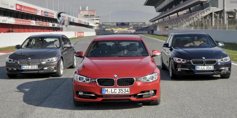 VISER VEI: BMW viser hvor bra bensinmotor er blitt. FOTO: Alberto Martinez
