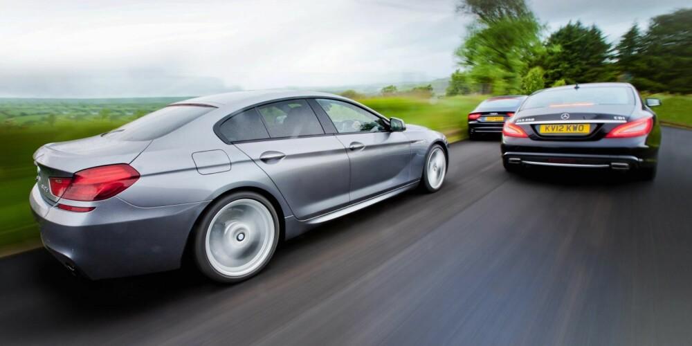 SIST: BMW kom sist til luksuskupéfestetn, men den siste skal bli den første.
