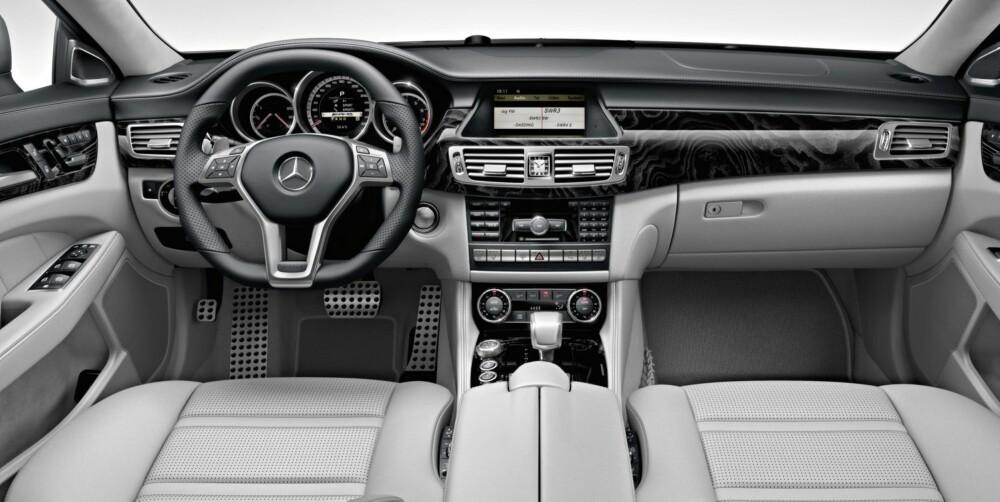 FØRERMILJØ: Mercedes-style. FOTO: Daimler AG