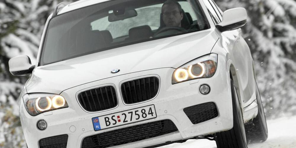 BEST I TEST: BMW X1 er den eneste SUV-en som har fått totalkarakter seks i våre tester i løpet av 2011 og 2012.