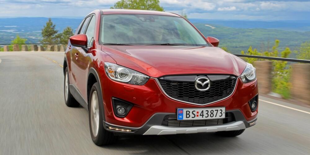 MYE FOR PENGENE: Nye Mazda CX-5 er årets største SUV-nyhet og et veldig godt kjøp om du ønsker kjøreglede og mye bil for pengene.