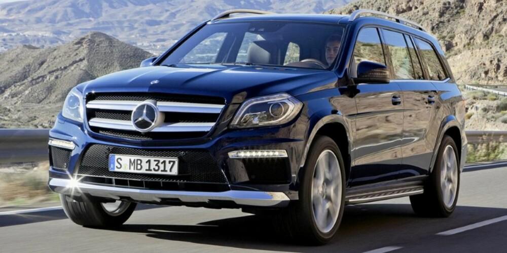 FORSVINNER: Gigant-SUV-en Mercedes GL i nyeste utgave blir ikke lenger å få kjøpt som varebil.