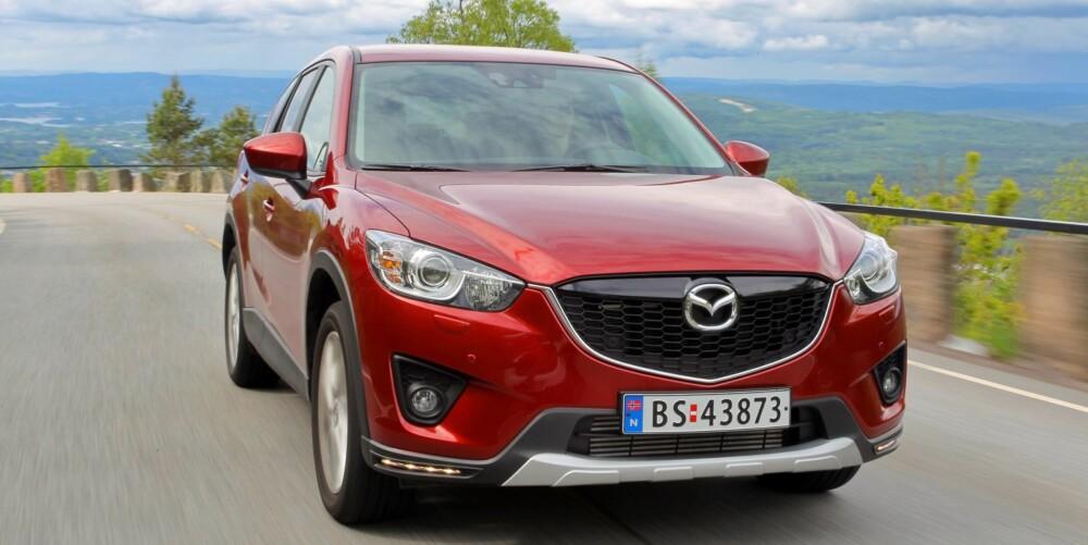 NOMINERT: Mazda CX-5. FOTO: Terje Bjørnsen