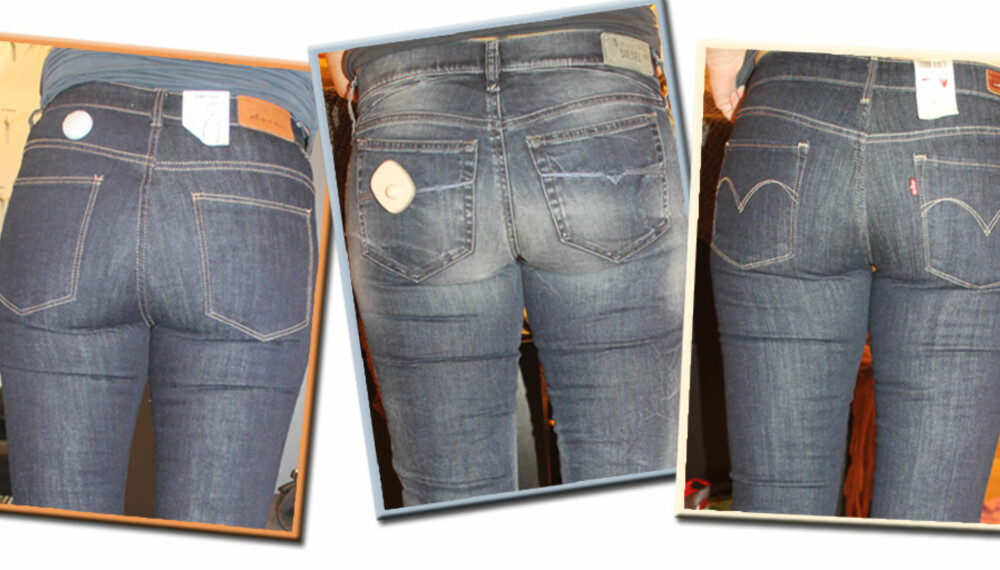 7f68a22f JEANS: Vi har vært ute i butikkene og prøvd høstens nye jeans. Hvilken gir