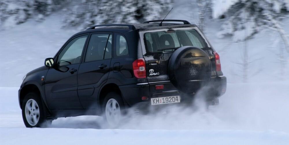 Toyota RAV4 2006-2012. FOTO: Egil Nordlien, HM Foto