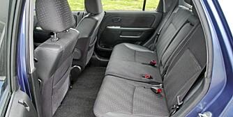 GOD PLASS: Honda CR-V er en brukt SUV med relativt god innvendig plass.