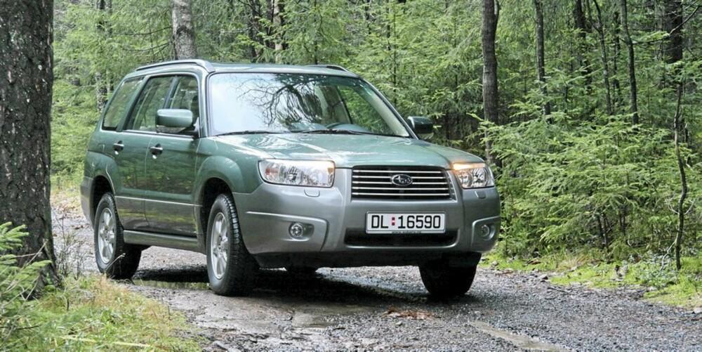 SUBARU FORESTER: I 2006 fikk denne modellen en viktig facelift. FOTO: HM Arkiv