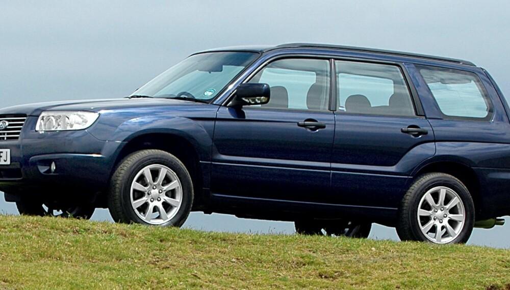 FIN KOMBINASJON: Subaru Forester kombinerer de beste SUV-egenskapene med lettkjørthet som en kompaktbil. FOTO: Subaru