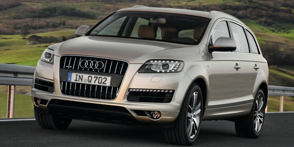 RIVAL: Audi Q7. FOTO: Audi