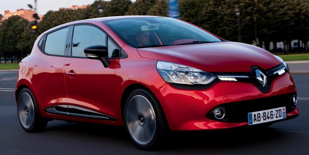 SIKRERE: Renault Clio koster fra 155 000 kroner, men har likevel en bra standardpakke med sikkerhetsutstyr. FOTO: Renault