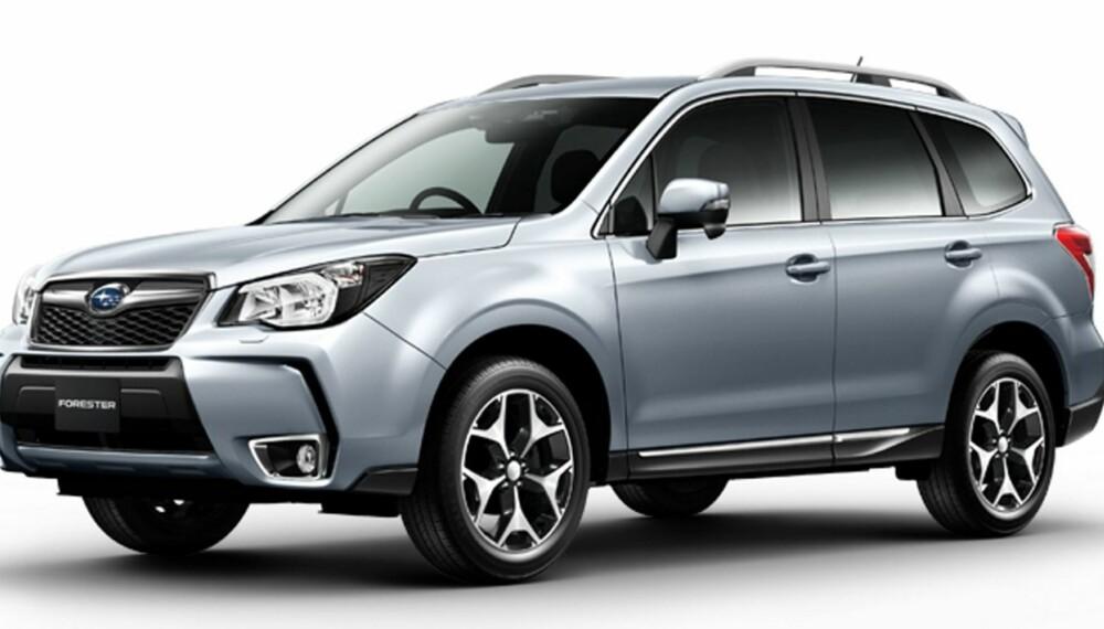 JAPANSK: Ny Forester kommer snart. FOTO: Subaru