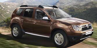 RUMENSK: Dacia Duster produseres i Romania. FOTO: Renault