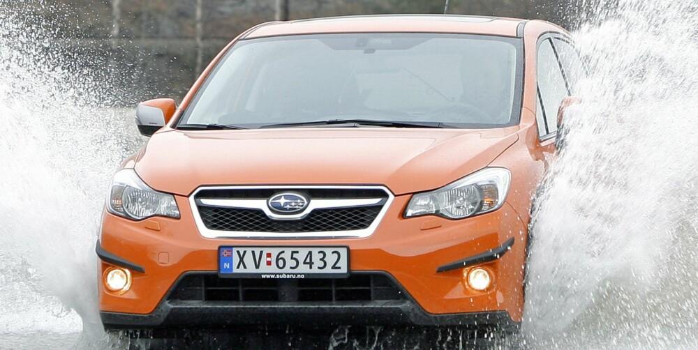 SUBARU XV: Klasse: SUV. Pris fra: 299 900,-. Motorer: Bensin, diesel. Girkasse: Manuell, automat. Mål (L/B/H): 4450/1780/1570 mm. Bag.rom: 380/1270 liter. Egenvekt uten fører: Fra 1370 kg. FOTO: Petter Handeland