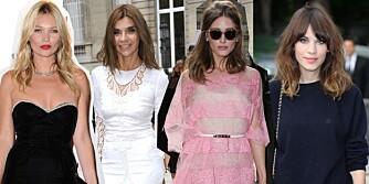 STILIKONER: Få stiltips fra de best kledde kvinnene i verden akkurat nå.