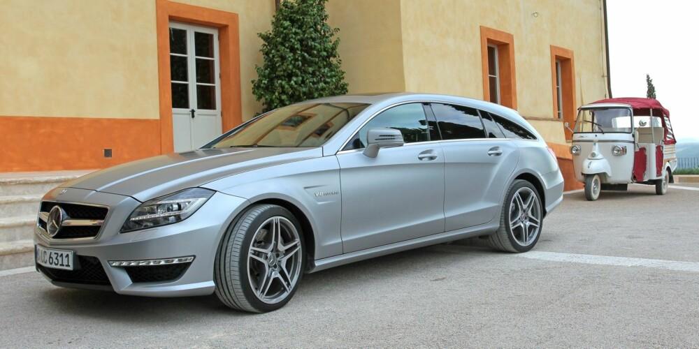 SMELLVAKKER: Mercedes CLS Shooting Brake - penere stasjonsvogn finnes ikke. FOTO: Petter Handeland