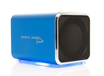 POPULÆR: Mobilhøyttaleren Music Angel Friendz er blitt solgt i over 300.000 eksemplarer i Norge. Men siden de kan seriekobles, så gjør det ikke noe om du gir bort en slik i gave til en som alt har en slik høyttaler.