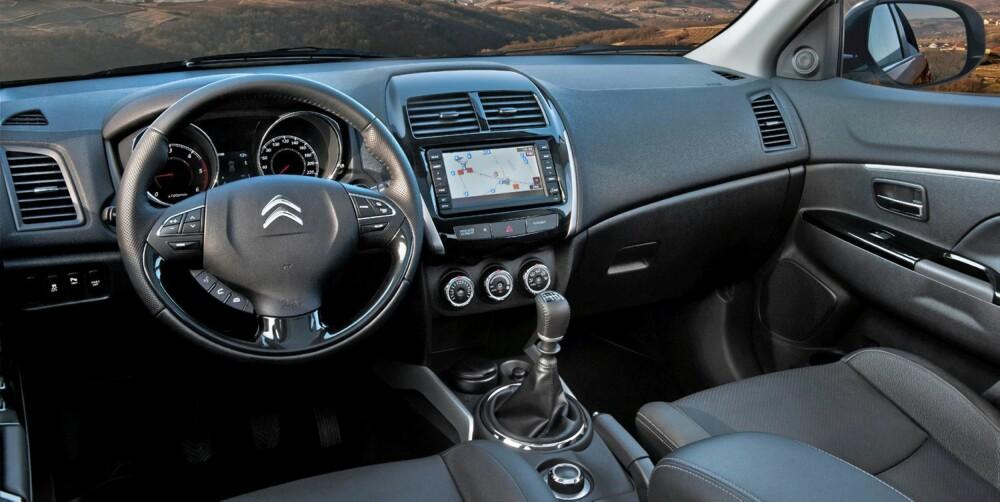 STORE ORD: komfort og gode kjøreegenskaper er nøkkelord for Citroëns personbiler, ifølge Citroën. FOTO: Citroën