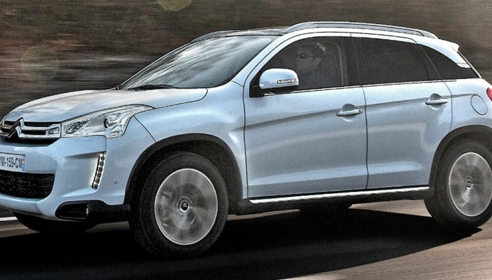 BILLIGERE: Den billigste versjonen med bensinmotor legger seg prismessig litt under ASX 1,6 ClearTek. FOTO: Citroën