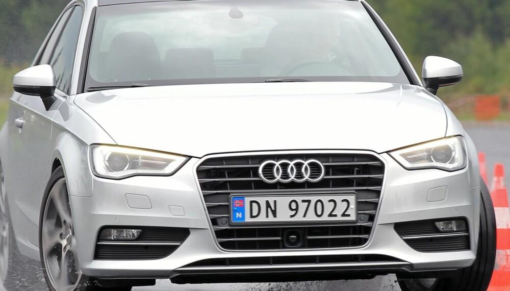 ÅRETS BIL: Audi A3 er kåret til Årets bil 2013. FOTO: Petter Handeland