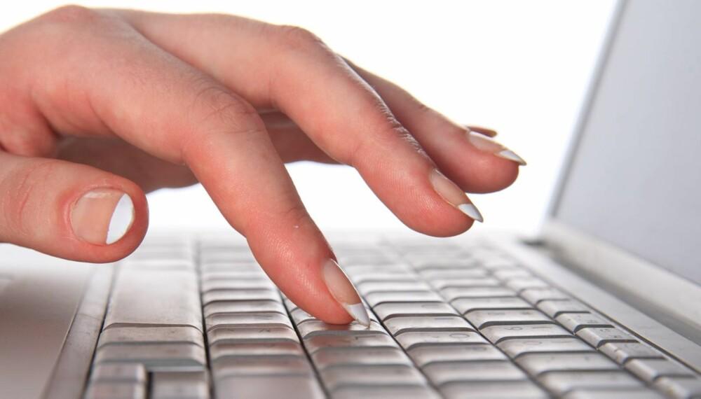 Gjør brukt kupp på nett. Foto: Colourbox