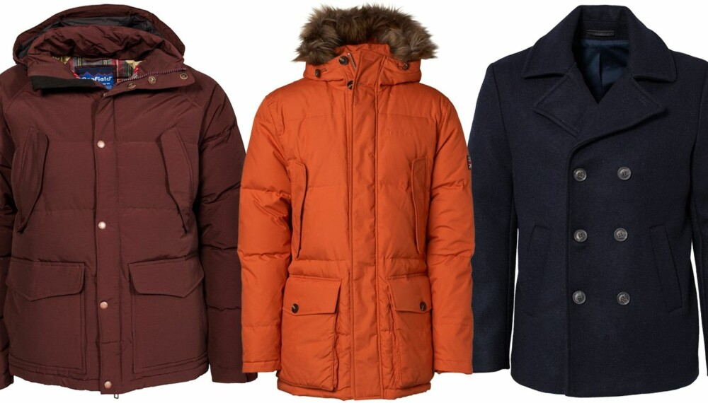 0d24a8ee VINTERJAKKER: Her er jakkene som holder deg varm hele vinteren.