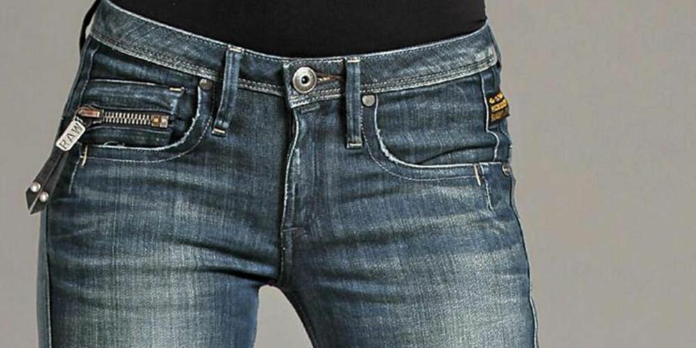 PRØV DEG FREM: Bruk tid på å finne jeansen som passer best til din kropp.