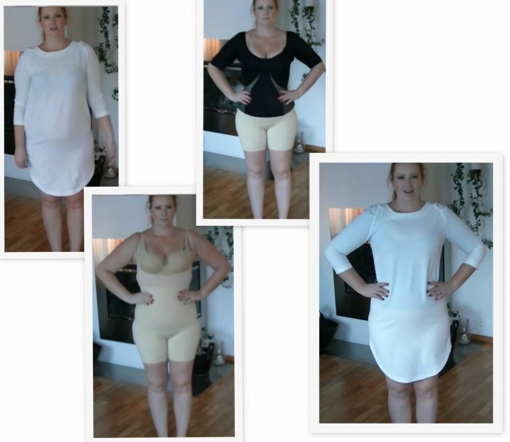 2e0efceb OVERBEVIST: Jeg dro fram en nydelig kjole fra Lindex, som i utganspunktet  ikke passer