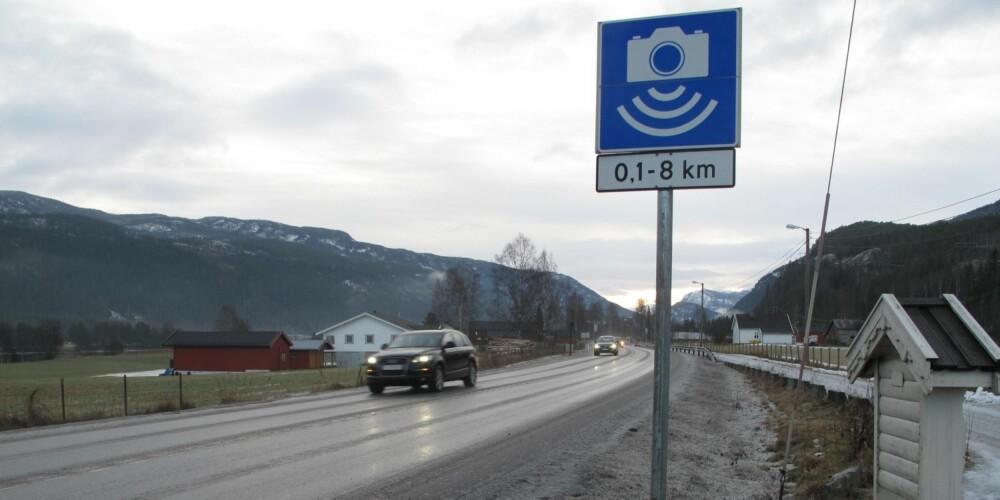 TAR FLERE: Tall fra direktoratet viser at streknings-ATK har tatt prosentvis flere i å kjøre for fort enn tradisjonell punkt-ATK. FOTO: Martin Jansen