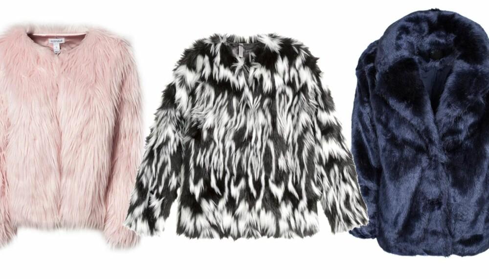 33105285 FUSKEPELS: Ønsker du å gå med pels i vinter, er det noen alternativer som