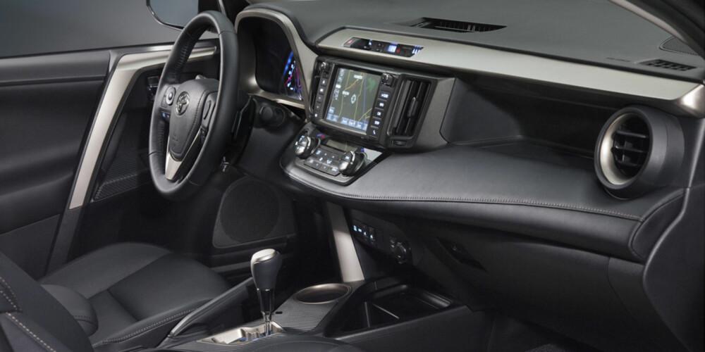 FORFINET: Kvaliteten på interiøret ser ut til å ha fått et løft. FOTO: Toyota