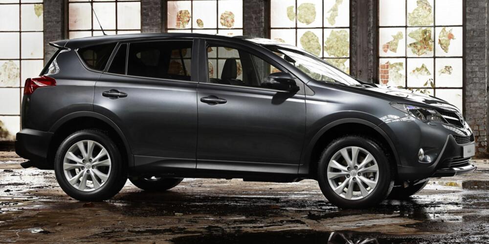 TIL NORGE: Bilen lanseres i Norge i mars neste år. FOTO: Toyota