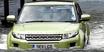EVOQUE: Mange norske bilkunder har ventet på denne bilen. ALLE FOTO: Land Rover