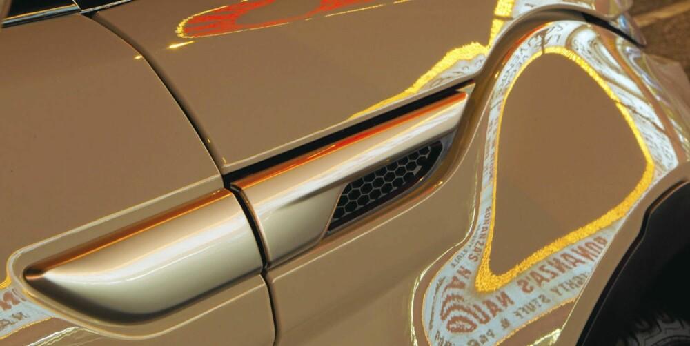 TØFFE DETALJER: Det er mange små detaljer på bilen som gjør den ekstra kul å se på.
