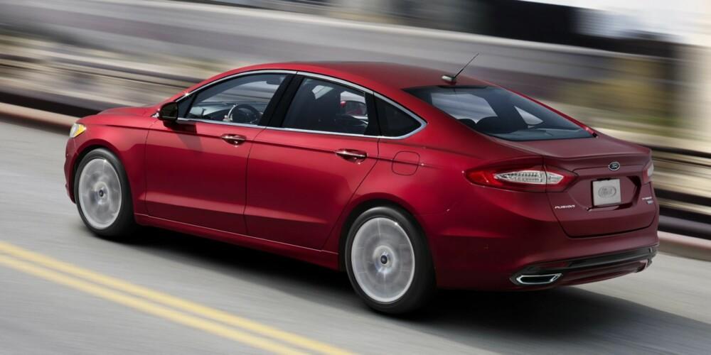 KOMBIKUPÉ: I Norge blir Ford Mondeo også tilgjengelig som femdørs kombikupé. FOTO: Ford