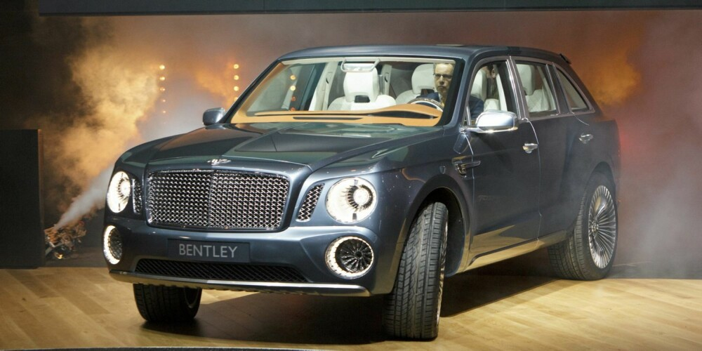 SUPER-SUV: Bentley EXP 9 F. FOTO: Dirk Michael Deckbar