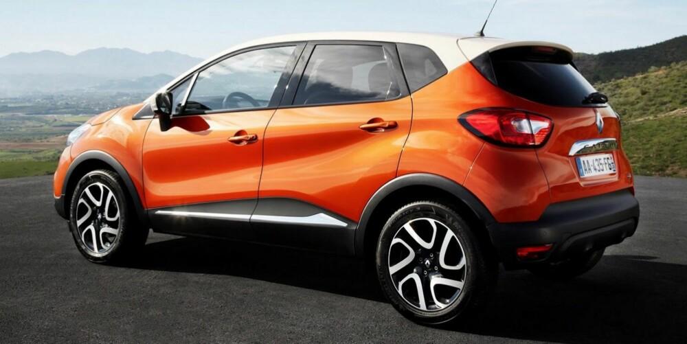 KONKURRENTER: Nye Peugeot 2008 og Nissan Juke nevnes av Renault som de viktigste konkurrentene.