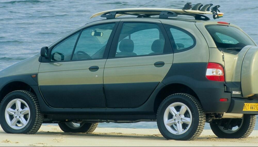 ETTERKOMMER: 13 år etter lanseringen av Renault Scénic RX4 får den en etterfølger i Norge. ALLE FOTO: Renault