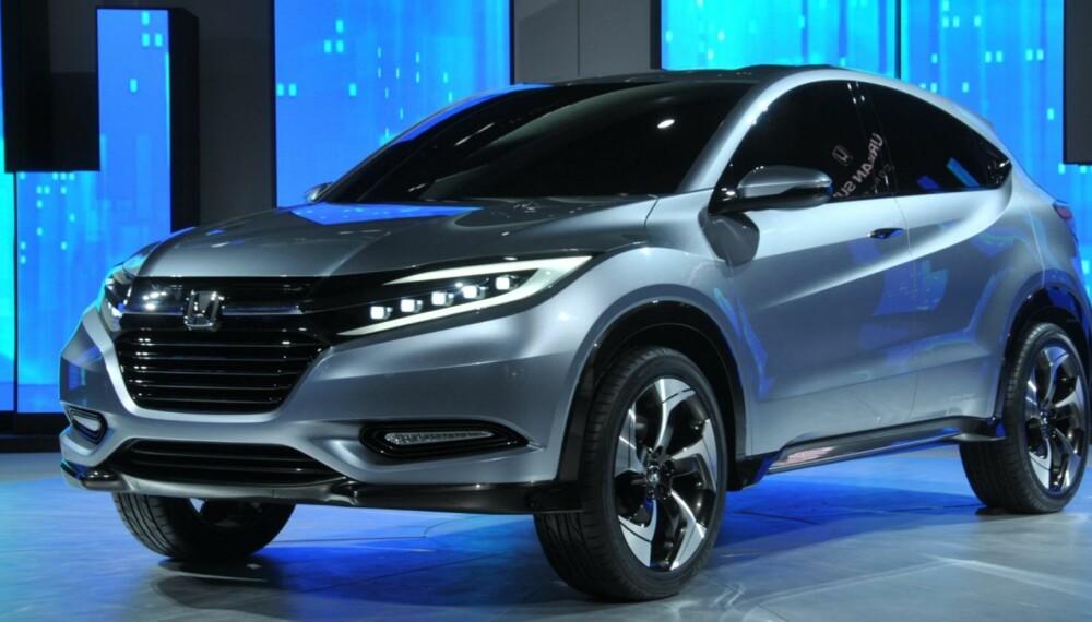 SUV: Dette urbane SUV-konseptet viser at Honda har en liten SUV på gang. FOTO: Naias