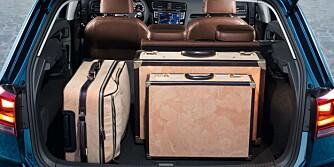 MER PLASS: Bagasjeromsvolumet er økt fra forgjengerens 350 til 380 liter. FOTO: VW